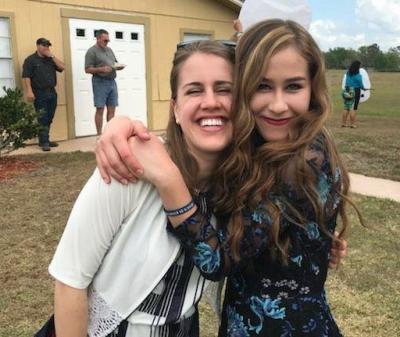 Anna Bannister and Lila LeBaron