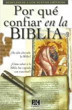 Por que confiar en la Biblia