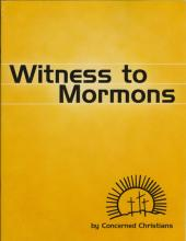 Witness to Mormons front cover